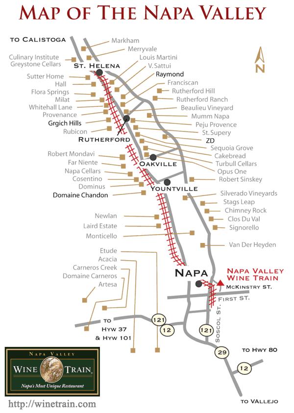 California Wine Country Train Tour